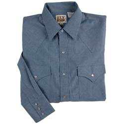 Chambray Western (long sleeve)