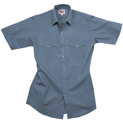 Chambray Western (short sleeve)