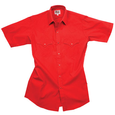 ELY Solid Blended Western (short sleeve)