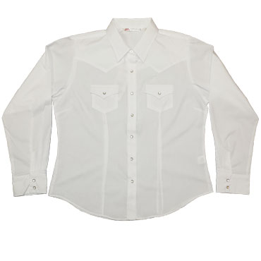 ELY Womens Solid Western (long sleeve)
