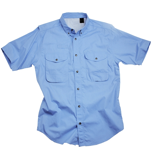 cotton poplin fishing shirt