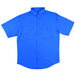 Short Sleeve RIPSTOP Fishing Shirt - NT:FS6010-BALTIC BLUE:FS6010-BB-2